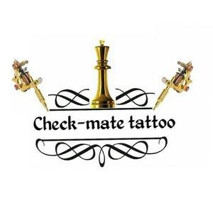 CHECK-MATE tattoo logo
