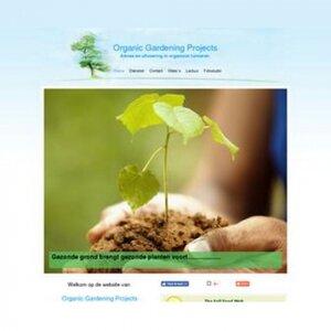 Organic Gardening Projects logo
