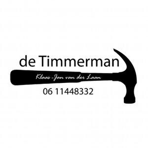 De timmerman, Klaas-Jan van der Laan logo