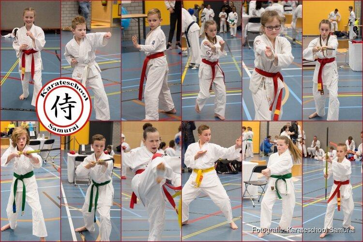 Karateschool Samurai in de prijzen bij Open NK