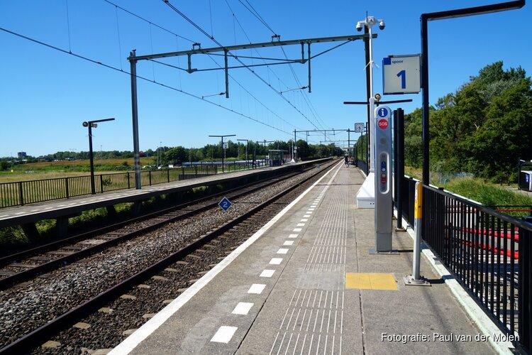 Persoon loopt op spoor bij Den Helder: treinverkeer rijdt stapvoets