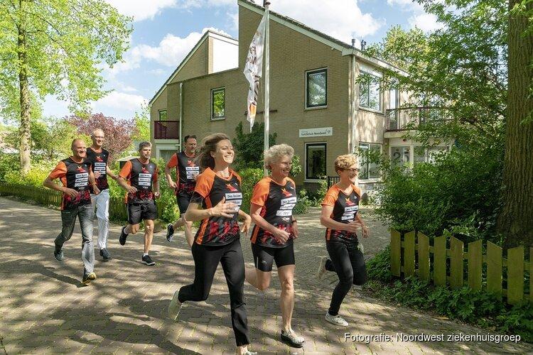 Personeel Noordwest ziekenhuisgroep loopt Den-Helder - Maastricht voor het goede doel