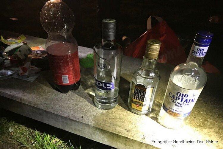 Handhaving: veel meer drinkende jongeren op de bon in Den Helder