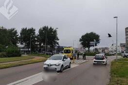 Jonge fietser gewond bij aanrijding op rotonde Den Helder