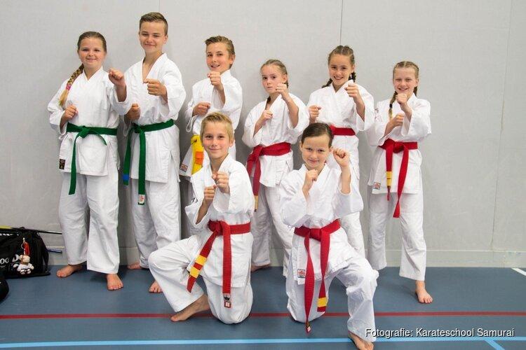 Karateschool Samurai wederom dik in de prijzen