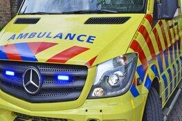 Auto botst met wielrenner in Den Helder