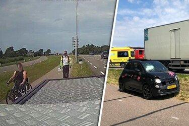"""Handbiker scheldt weginspecteur huid vol: """"Jullie zijn allemaal klootzakken!"""""""