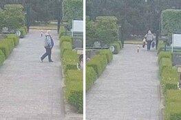 Politie zoekt man die bloemen van graven steelt in Den Helder
