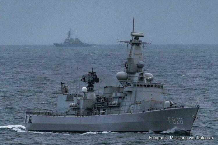 In week tijd trekken drie marineschepen vanuit Den Helder de oceaan over