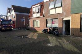 Brand in woning Den Helder