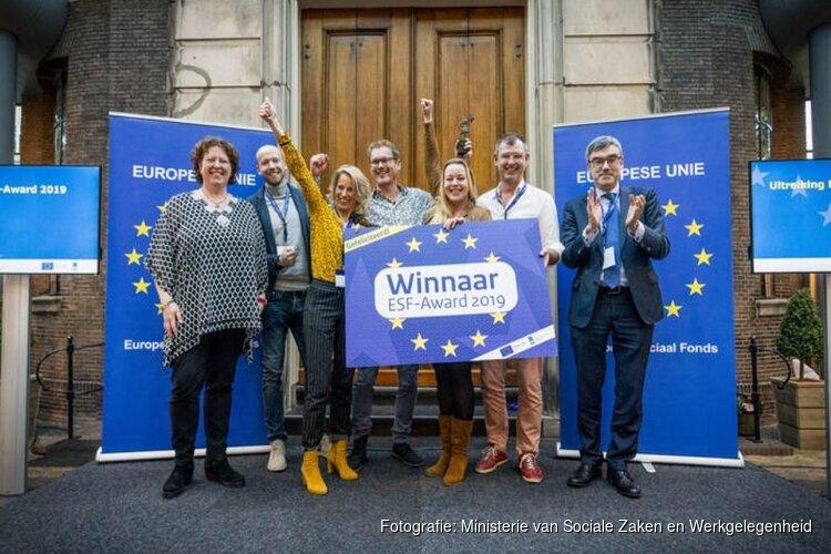 Helders project Jeugd Werkt! wint prijs van Europees Sociaal Fonds