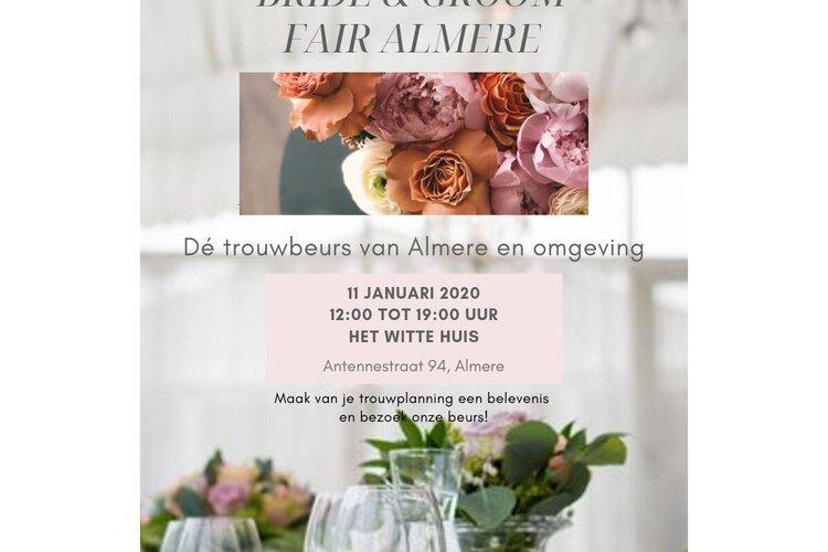 Trouwbeurs Bride & Groom Fair Almere voor Ondernemers