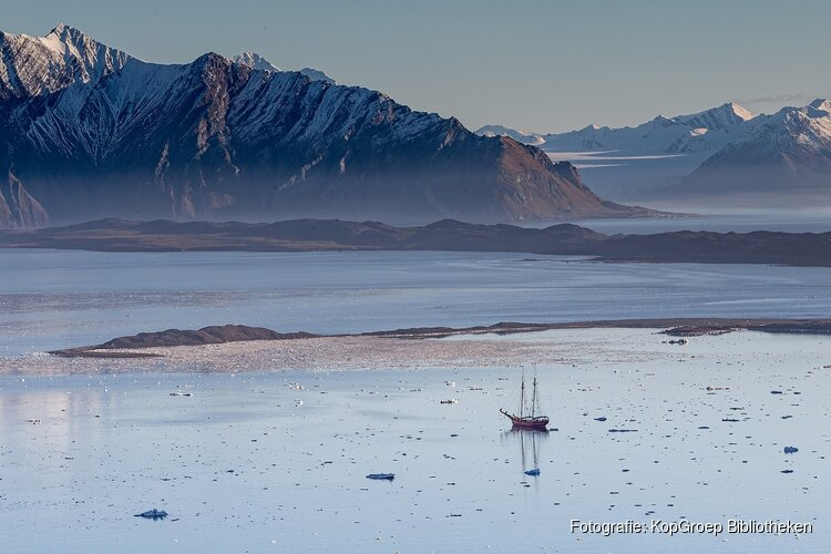 Fotolezing over spitsbergen: top of the world