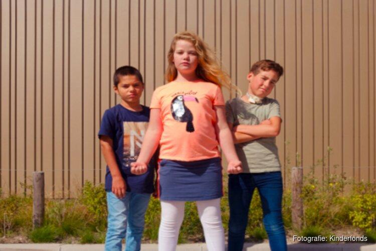 Superheld in actie in Den Helder