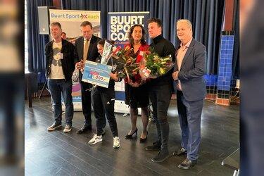 Helderse Jordy grijpt naast titel Buurtsportcoach van het jaar