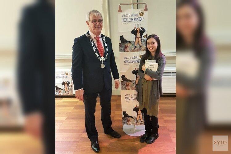Meghan wint voorronde voorleeswedstrijd