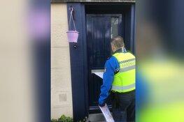 Preventieve actie politie en gemeente ter voorkoming inbraak