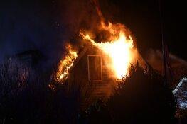 Grote brand in Callantsoog