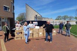Schenking bloembollenpakketten voor vrijwilligers MEE & de Wering