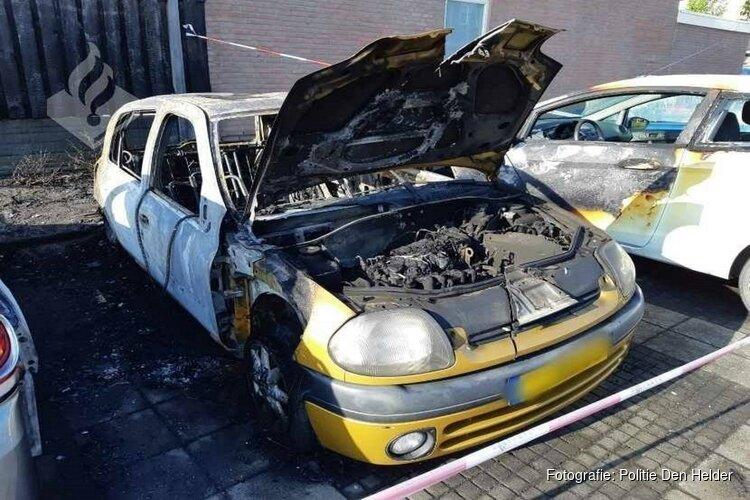 Autobrand; politie zoekt getuigen