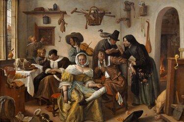 Online kunstlezing over Jan Steen