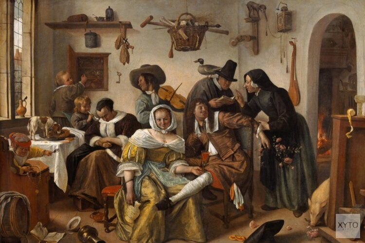 Online kunstlezing over Jan Steen