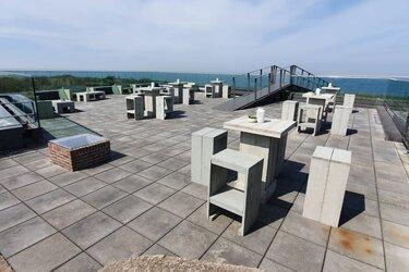 Fort Kijkduin: het terras met het mooiste uitzicht van Nederland gaat open!