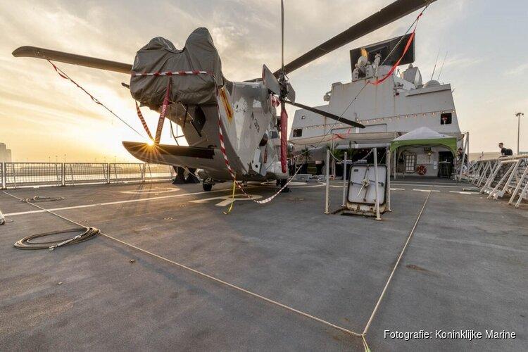 Klus geklaard: marinefregat Zr. Ms. De Ruyter koerst richting thuishaven Den Helder