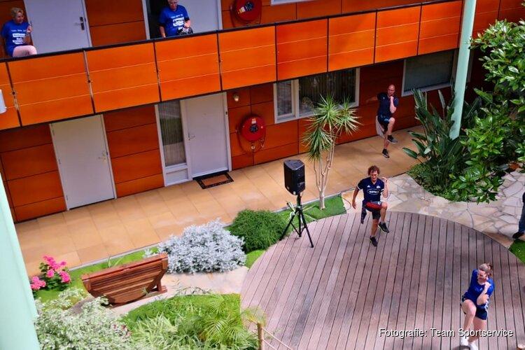 Balkongym Team Sportservice gaat door tot vakantie