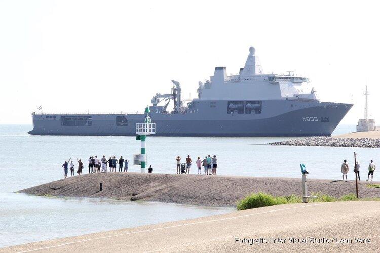 Marineschip Zr. Ms. Karel Doorman terug gekeerd in thuishaven na 2,5 maand corona-missie