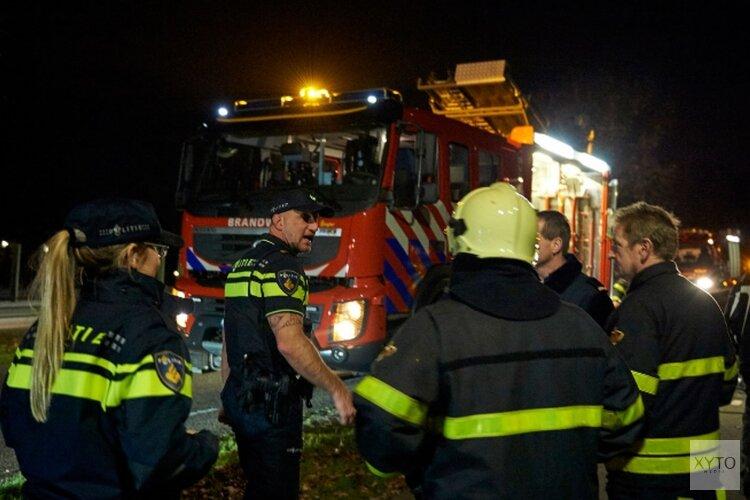 Quad in Den Helder in brand