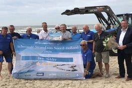 Den Helder voor het tweede jaar op rij 'Schoonste Strand' in Noord-Holland