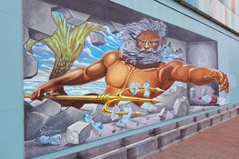 3D Streetart in centrum Den Helder