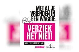 Helderse Coronacampagne: VERZIEK HET NIET!