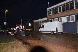 Brand bij supermarkt in Den Helder. Wel schade, geen gewonden