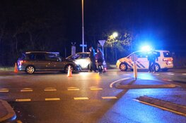 Blikschade bij ongeval kruising Nieuweweg