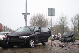 Veel schade bij ongeval Den Helder