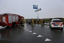 Auto te water in Den Helder