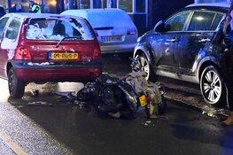 Maaltijdbezorger gewond na ongeval in Den Helder