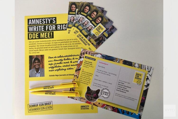 Schrijf mee met Amnesty  in School 7