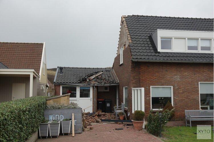 Gevel van woning in Callantsoog