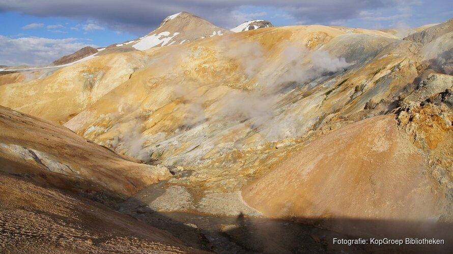 Gletsjers en vulkanen op IJsland