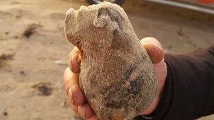 """Granaat gevonden op strand Den Helder: """"De vijfde granaat van deze week"""""""