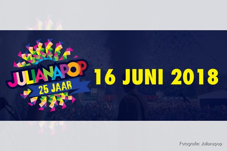 Eerste namen jubileum line-up Julianapop bekend!