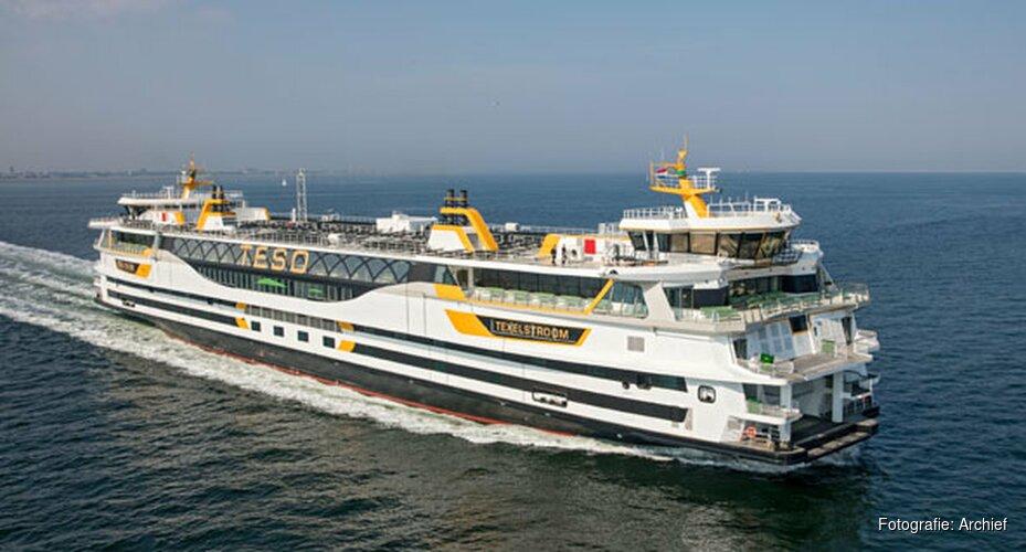 Vanmiddag mogelijk geen veerboten tussen Den Helder en Texel