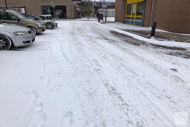 Grote kans op sneeuw in het weekend