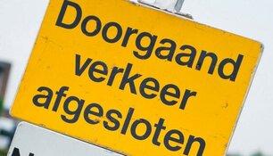 Wegafsluitingen Halve van Den Helder