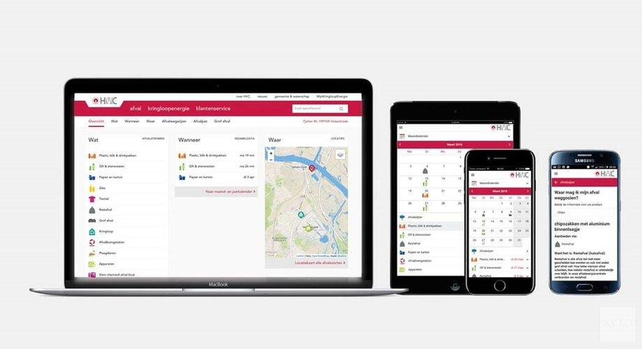 App HVC wel vernieuwd, geen bestuurbare bak