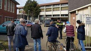 Journalist opgepakt bij ontruiming Rob Scholte Museum
