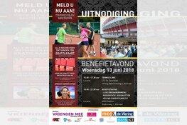 Benefiet Vrienden MEE Sportfonds op woensdag 13 juni